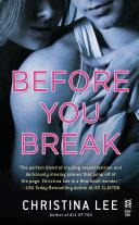 Before You Break Pdf