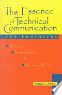 The Essence of Technical Communication for Engineers