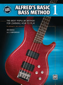 Alfred s Basic Bass Method  Book 1