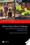 Africa's Future, Africa's Challenge