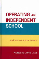 Operating an Independent School Book
