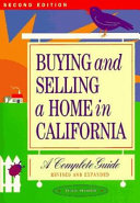 Buying and Selling a Home in California