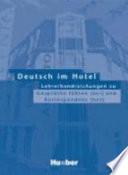 Deutsch im Hotel
