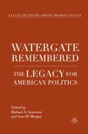 Pdf Watergate Remembered