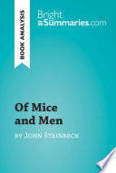 Of Mice and Men by John Steinbeck  Book Analysis
