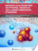 Matricellular Receptors As Potential Targets In Anti Cancer Therapeutic Strategies Book PDF