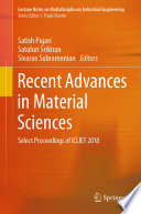 Recent Advances in Material Sciences Book
