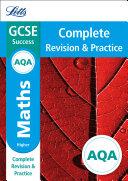 AQA GCSE 9 1 Maths Higher Complete Revision   Practice  Letts GCSE 9 1 Revision Success
