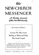New Church Messenger