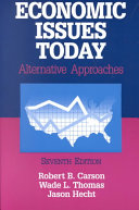Economic Issues Today Book