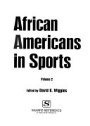 African Americans in Sports  M Z