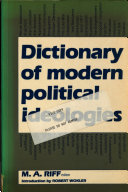 Dictionary of Modern Political Ideologies