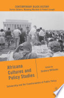 Africana Cultures and Policy Studies Pdf/ePub eBook