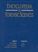 Encyclopedia Of Forensic Sciences Book PDF