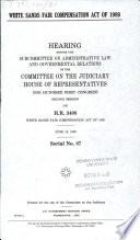 White Sands Fair Compensation Act of 1989 Book PDF