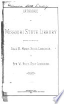Catalogue Of Missouri State Library Book PDF