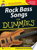 Rock Bass Songs for Dummies  Music Instruction