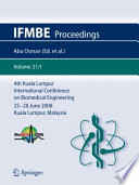 4th Kuala Lumpur International Conference on Biomedical Engineering 2008 Book