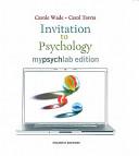 Invitation to Psychology  Mylab Edition   Study Guide for Invitation to Psychology and Current Directions in Introductory Psychology