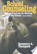 School Counseling Book