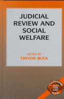Judicial Review and Social Welfare