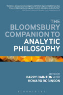 The Bloomsbury Companion to Analytic Philosophy Book