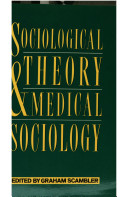 Sociological Theory and Medical Sociology Book