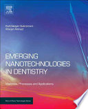 Emerging Nanotechnologies In Dentistry Book PDF