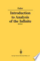 Introduction to Analysis of the Infinite Book PDF
