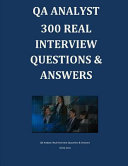 Qa Analyst 300 Real Interview Questions   Answers