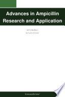 Advances in Ampicillin Research and Application  2012 Edition
