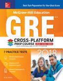 McGraw Hill Education GRE 2018 Cross Platform Prep Course