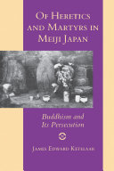 Of Heretics and Martyrs in Meiji Japan
