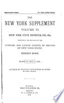 The New York Supplement