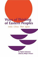 The Ways of Thinking of Eastern Peoples