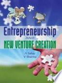 Entrepreneurship and New Venture Creation Book