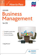 How to Pass Higher Business Management for CfE