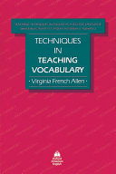 Techniques in teaching vocabulary