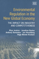 Environmental Regulation in the New Global Economy Book