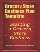 Grocery Store Business Plan Template Book PDF