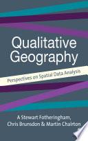 Quantitative Geography Book