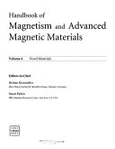Handbook of Magnetism and Advanced Magnetic Materials  5 Volume Set Book