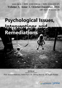 Psychological Issues  Interventions and Remediations