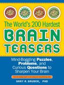 The World's 200 Hardest Brain Teasers Pdf/ePub eBook