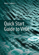 Quick Start Guide to VHDL Book