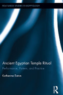 Pdf Ancient Egyptian Temple Ritual