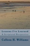 Lessons I ve Learned