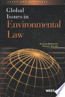 Global Issues in Environmental Law