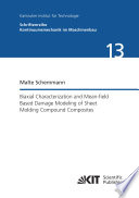 Biaxial Characterization and Mean field Based Damage Modeling of Sheet Molding Compound Composites Book