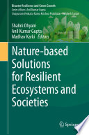 Nature based Solutions for Resilient Ecosystems and Societies Book